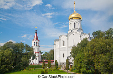 The Church of the Intercession. Minsk, Belarus.