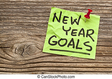New Year goals