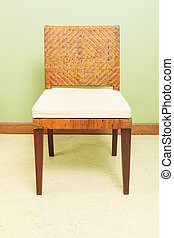 sofa furniture weave bamboo chair