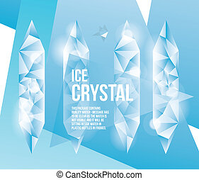 Crystal Ice Fractal Abstract