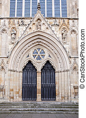 York Minster - Architecture of York Minster England UK