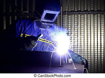 fine image of welder of work 01 - fine image of welder of...