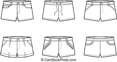 Shorts - Vector illustration of shorts