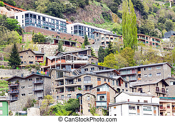 Residence district at Pyrenees Andorra