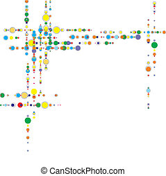 Abstract geometric shapes vector illustration. Design...