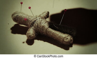 Voodoo doll black magic practice - Voodoo doll dark mystical...