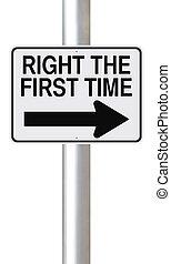 derecho, primero, tiempo