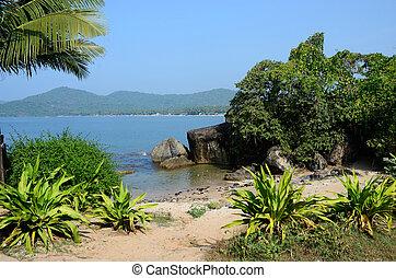 Beautiful Palolem beach, South Goa - Beautiful Palolem beach...