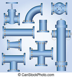 Pipes - Plumbing Elements Collection