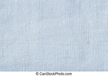 Natural Light Blue Flax Fibre Linen Texture, Detailed Closeup