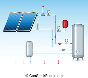 Solar Scheme Illustration
