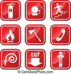 Fire Signs icons