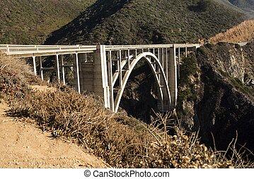 Bixby Bridge - The Bixby Bridge on the west coast of...