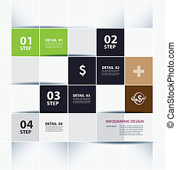 business step paper and template