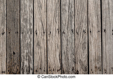 pattern of  old wooden  bridge floor