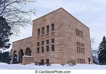 Cemetery Structure in Mendota Heights - Office building...