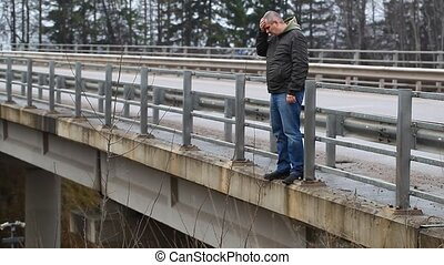 Depressed man on the bridge episode 1