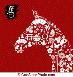 2014 New Year of the Horse - Zodiac 2014 Chinese New Year of...