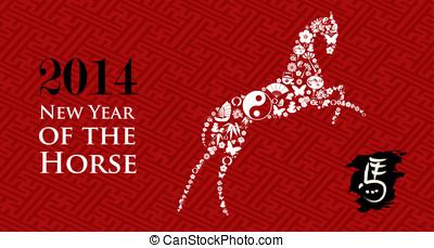 Chinese Zodiac New Year of the Horse - Zodiac 2014 Chinese...