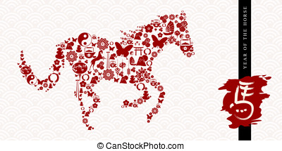 2014 Chinese New Year of the Horse banner - 2014 Chinese New...