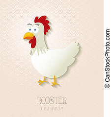 Chinese zodiac set Year of the Rooster - 2017 Chinese New...