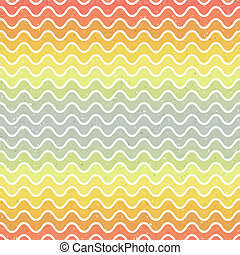 seamless gradient wave pattern