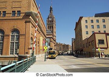 Milwaukee Wisconsin - Downtown Milwaukee, Wisconsin, United...