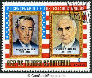 ecuatorial, wilson, Presidentes, -, woodrow, (1913, 1975:,...