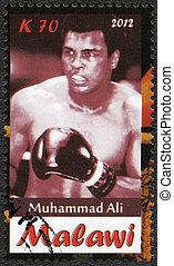 Malawi - 2012: shows Muhammad Ali - Malawi - CIRCA 2012: A...