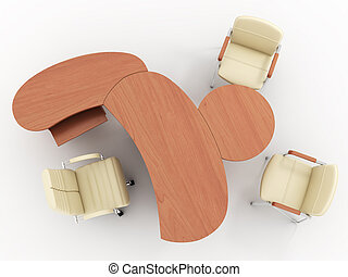 Office furniture - The office furniture complete set...