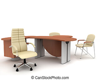 Office furniture - The office director\'s furniture complete...