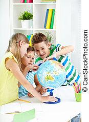 studieren, geographie