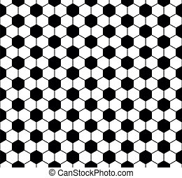 soccer ball background - illustration of a seamless soccer...