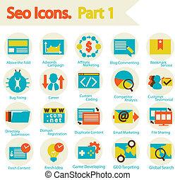 SEO Icon set part 1