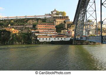 Vila Nova de Gaia - Porto (Oporto). Ancient town in...