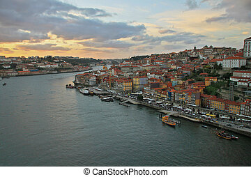 Porto (Oporto). Ancient town in Portugal.