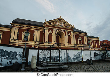 Drama Theater in Klaipeda,Lithuania - Old Town in Klaipeda...