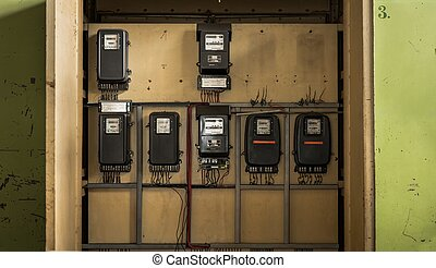 Electrical fuseboxes and power lines