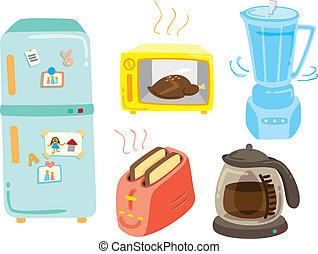electronic kitchen stuff icon
