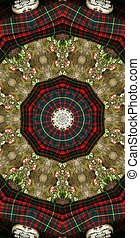 Tartan Abstract - Tartan abstract