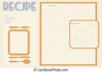 Recipe Clipart and Stock Illustrations. 25,041 Recipe vector EPS ...