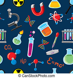 science stuff background