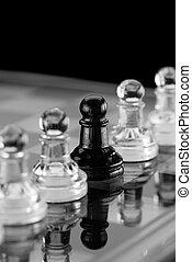 ajedrez, individuo