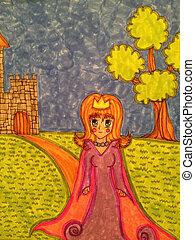 Enchanting Princess  - Full Colour Enchanting Princess