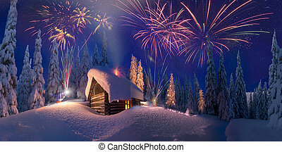 Christmas in the Carpathians - Climbing to tourist wild...