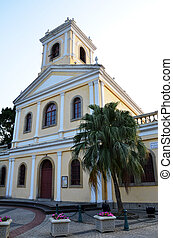 Ancient church in Macau
