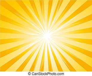 background with Sunburst - Illustration of background with...