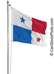3D, Panamá, bandera