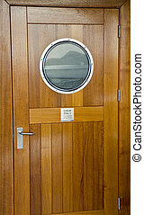 Crew Door - Door for Crew Only on a cruise ship