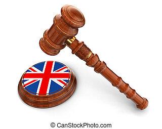 Wooden Mallet, United Kingdom flag